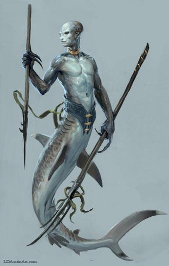Sirena and siyokoy - Suwarnabumi - Fantasy RPG